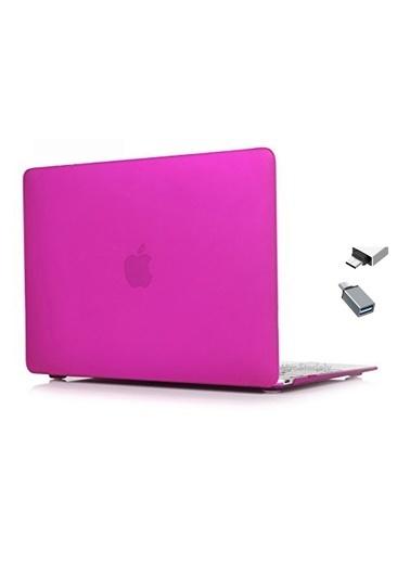 "Mcstorey MacBook Retina A1534 A1931 12"" Kılıf Kapak Koruyucu Hard Incase Mat Mor"